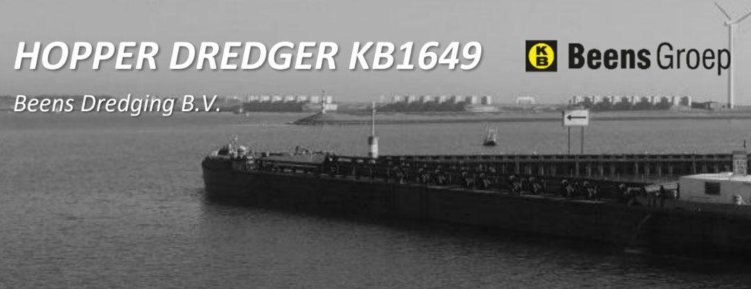Sludge Dredging Meter installed on vessel of Beens Dredging B.V.